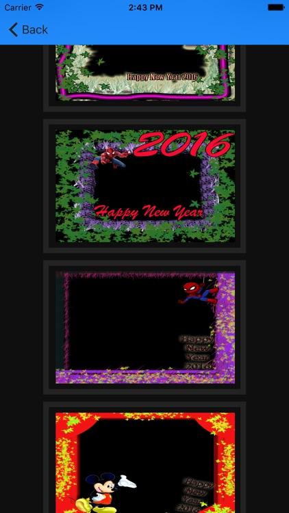 2016 Christmas & New Year Customize Card Frame screenshot-3