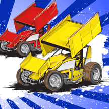 Dirt Racing 2 Sprint Car Game Pro