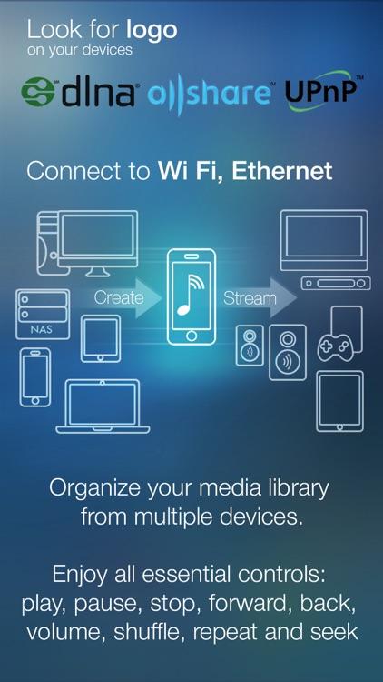 MyAudioStream Lite UPnP audio player and streamer