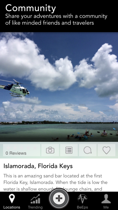 epical - Find Local Places & Share The Best Vacation Destinations Screenshot on iOS