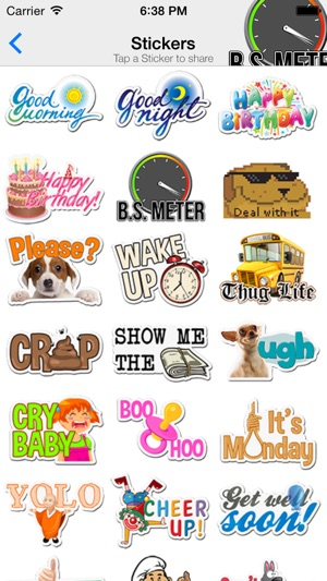 ChatStickerz™ – Funny Emoji Stickers for Snapchat, Whatsapp, iMessage SMS  Texting on the App Store