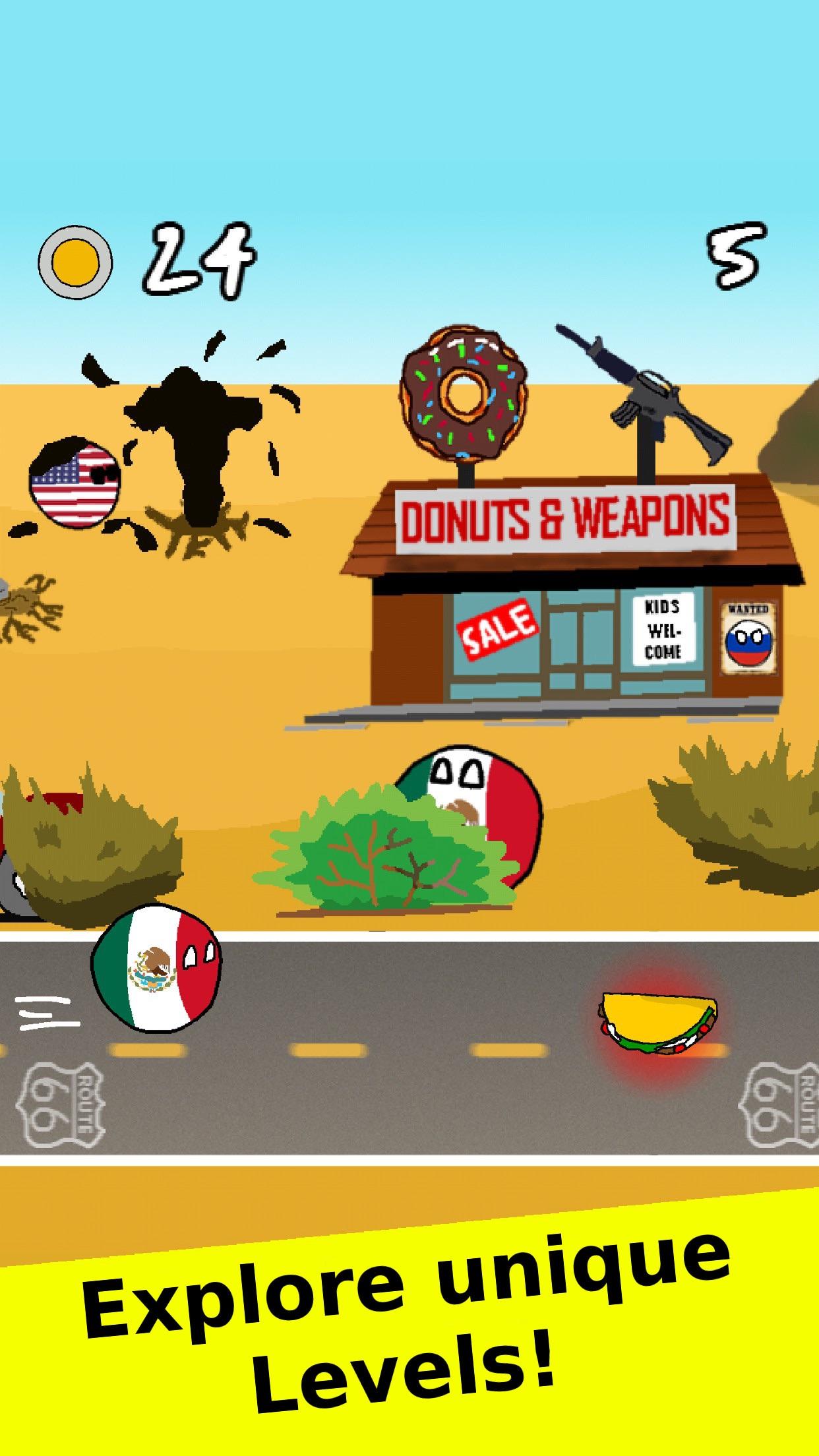 Countryballs - The Polandball Game Screenshot