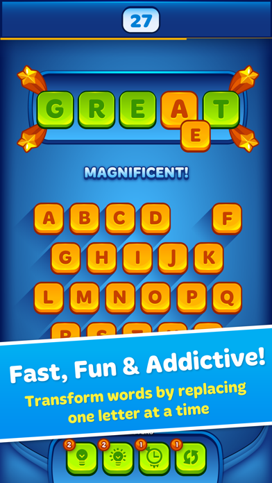 Word Morph! - Endless Word Puzzle Game screenshot one