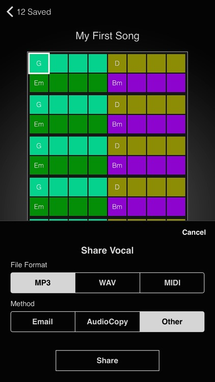 MelodyMiner - Turn A Song Idea Into Melodies Over Chords screenshot-4