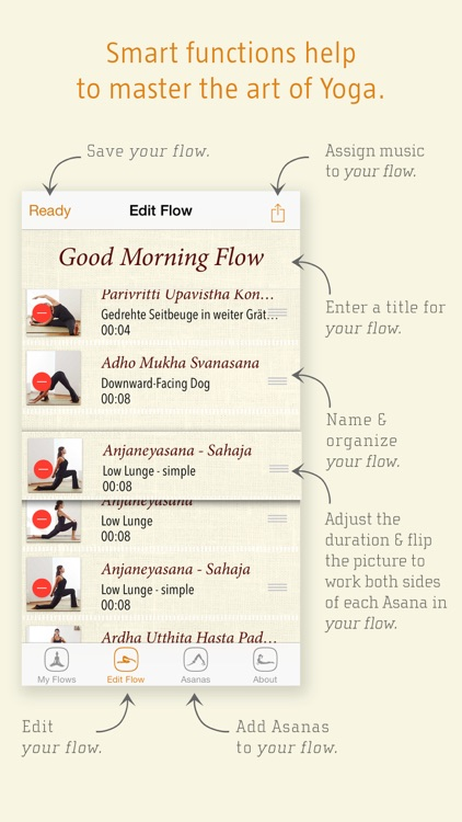 Yoga2go - myFlows screenshot-1