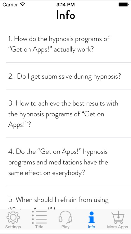 Get Energy! Boost Your Energy by Hypnosis screenshot-3