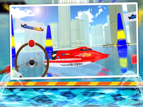 Speed Boat Sea Parking Racer-ipad-1