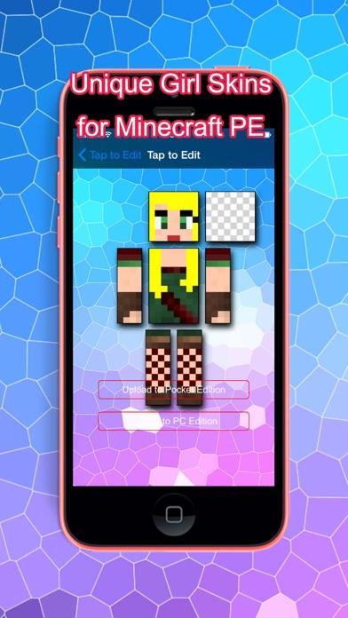 PE Girl Skins for Minecraft Pocket Edition screenshot three
