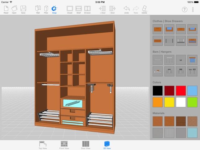 Sketch Arm 3d Closet Designer On The App Store