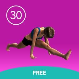 Women's Splits 30 Day Challenge FREE