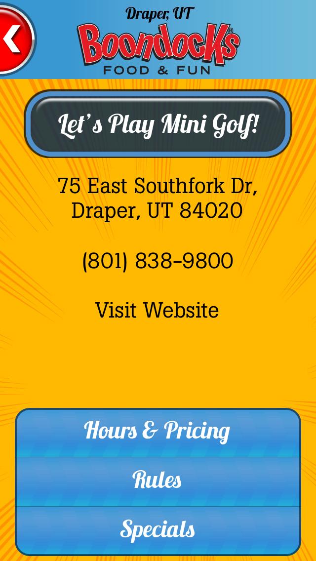 download Boondocks Mini Golf Scorecard apps 2