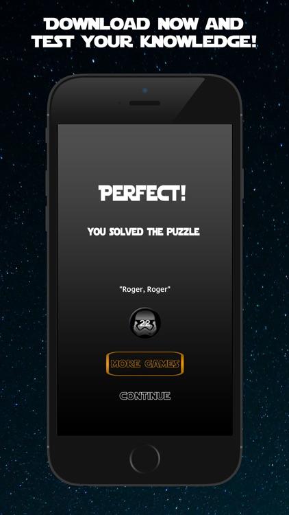 Trivia Wars - Quiz Game for the real Star Wars fan screenshot-4