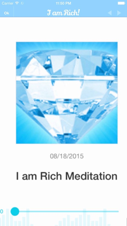 I am Rich! Positive Image Meditation and Affirmations