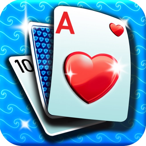 2015 Klondike Rules Solitaire 3 – spades plus hearts classic card game for ipad free