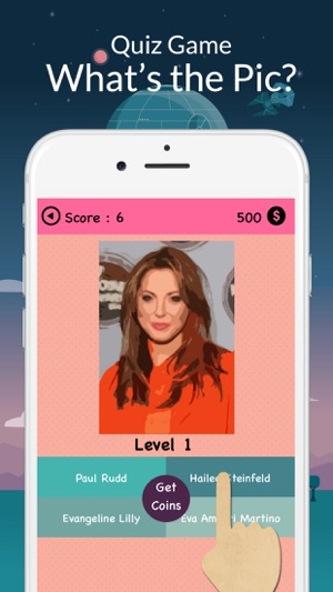 iCeleb Quiz : Hi Guess Close Up Celebrity Fan Trivia on the