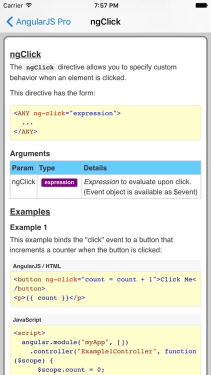 AngularJS Pro screenshot-3