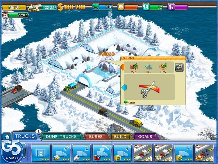 Virtual City 2: Paradise Resort HD screenshot-3
