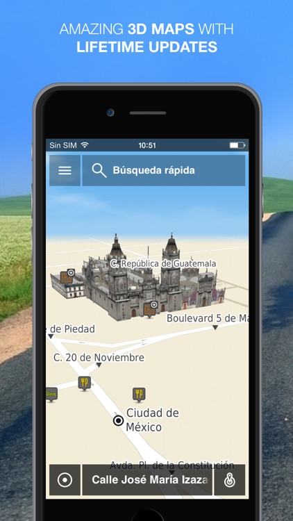 NLife Mexico Premium - Offline GPS Navigation & Maps