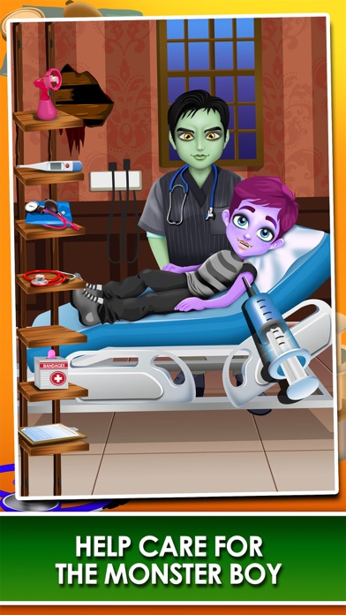download Monster Mommy's Newborn Baby Doctor - my new girl salon & pregnancy make-up games for kids 2 apps 1