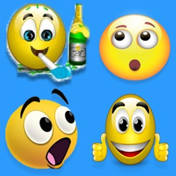 Animated Emojis Pro - Holiday, NewYear,Party 3D Emoticons & HD Emojis
