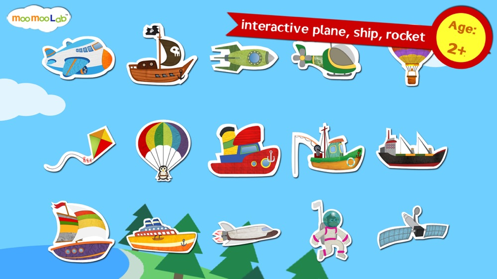 Rocket and Airplane : Puzzles, Games and Activities for Toddlers and Preschool Kids by Moo Moo Lab Cheat Codes