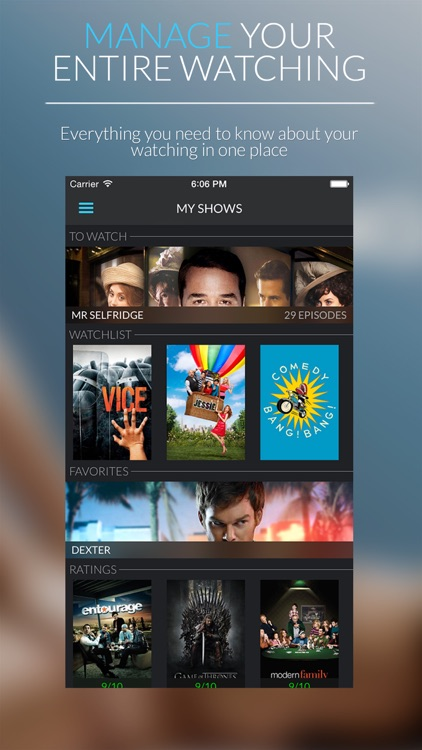 ShowTrack - Find, manage and track TV shows screenshot-4