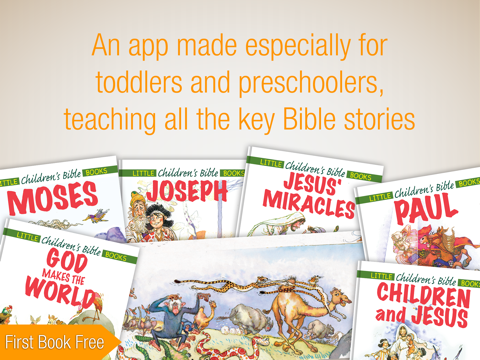 Kids Bible - 24 Bible Story Books and Audiobooks for