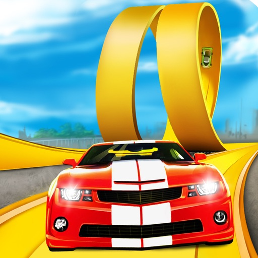 3D Stunt Car Race - eXtreme Racing Stunts Cars Driving Drift Games icon