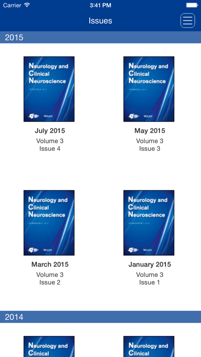 Neurology and Clinical Neuroscience screenshot four