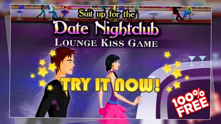 Boys meet Girls FREE – Suit up for the Date Nightclub Lounge Kiss Game