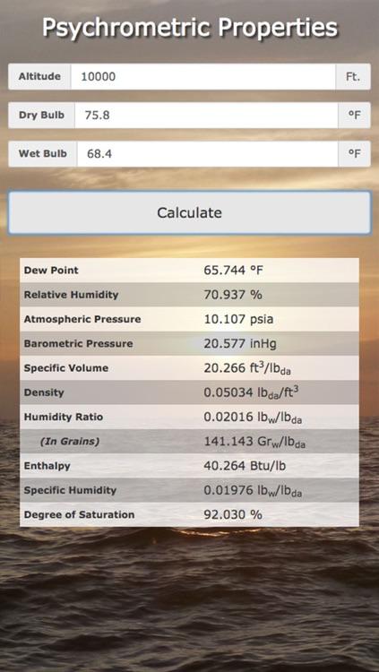 Test & Balance / Commisioning Calculator screenshot-4