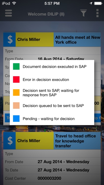 Unvired Workflow for SAP screenshot-3