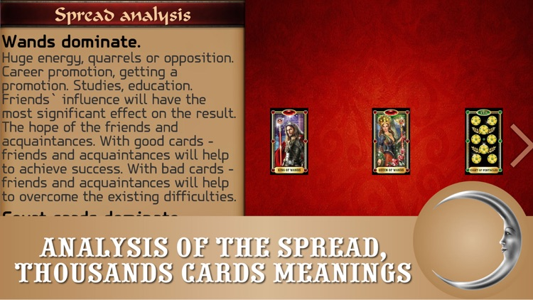 Tarot reading PRO - cards fortune-tellings, divinations and predictions screenshot-3