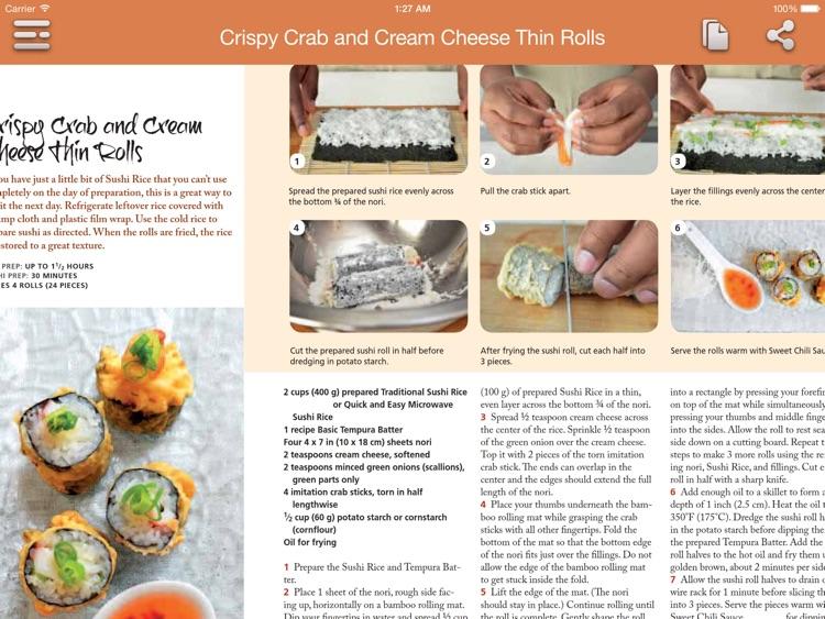 Sushi Recipes for iPad screenshot-3