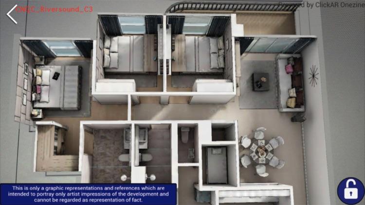 Qingjian Realty Virtual AR Floorplan