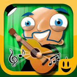 Ícone do app Palco de Música - BEBOPS Crie a sua Banda de Música