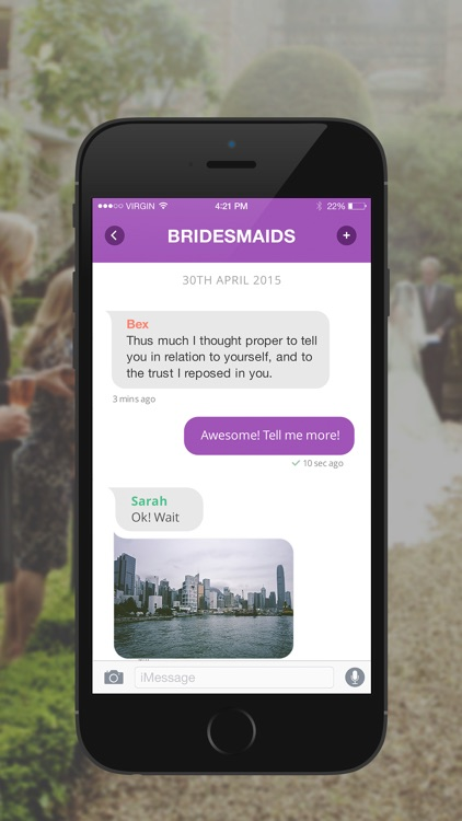 WedMate – The Ultimate Social Wedding Planner List App screenshot-3