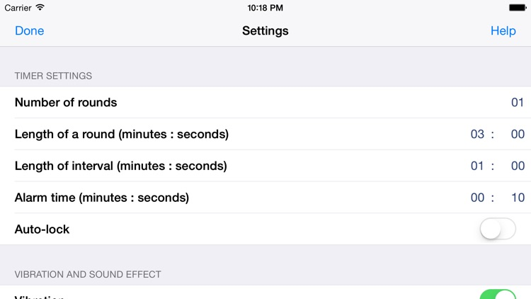 Friendly Timer - Big timer for cooking and fitness screenshot-3