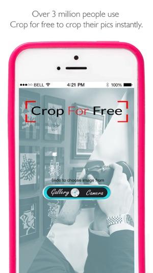 free crop app