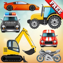 Vehicles and Cars for Toddlers and Kids ! FREE app