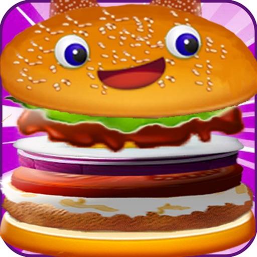 Burger быстрого питания для приготовления пищи игры - гамбургер мейкер игры для девочек