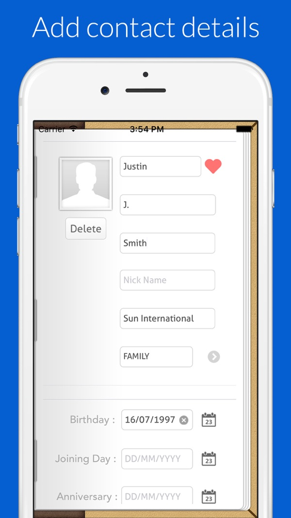 Contact Book on the AppStore