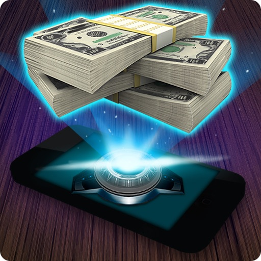 3D Голограмма Деньги Шутка