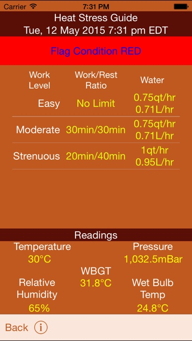 Screenshot for WeatherFX in United States App Store