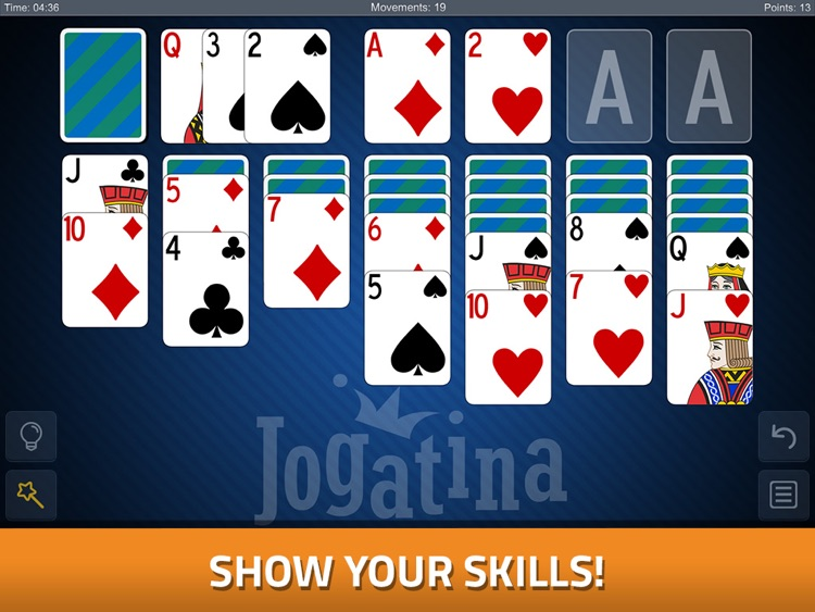 Solitaire Jogatina HD screenshot-1