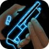Neon Weapon Shotgun Simulator