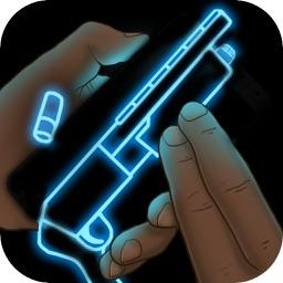 Neon Weapon Shotgun Simulator