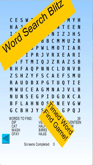 Word Search Blitz, blitz rounds of wordsearch screenshot three
