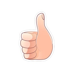 Hand Gesture Stickers iMessage Edition