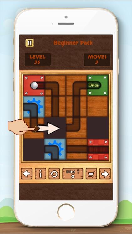 Amazing Slide Block to Roll the Ball screenshot-3